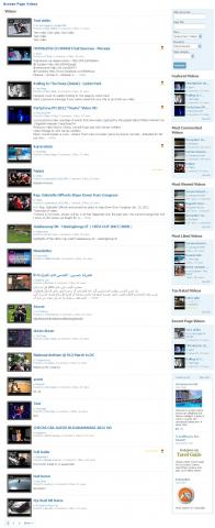 Browse Page Videos