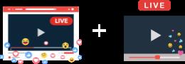Live Video Streaming / Broadcasting Kit for Website & Apps