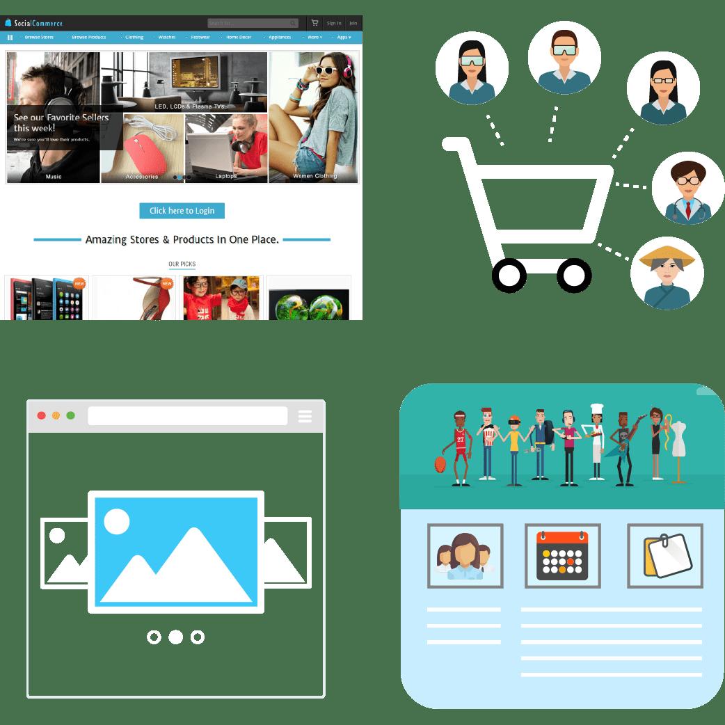 Stores / Marketplace - Ecommerce Product Kit