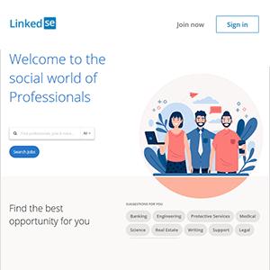 LinkedIn Clone Theme