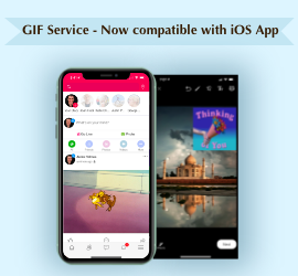 GIF Service - Now compatible with iOS App