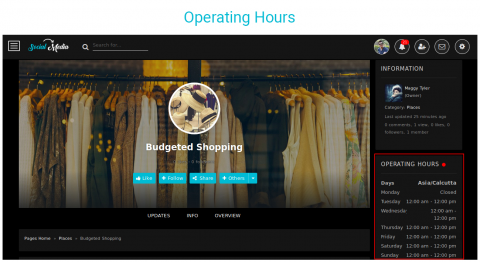 Operating Hours