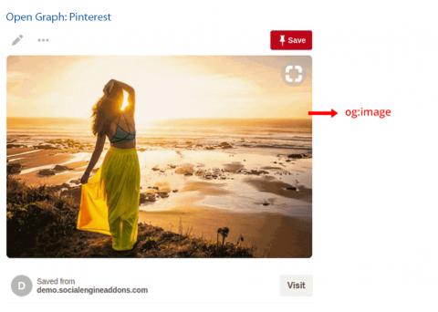 Open Graph: Pinterest