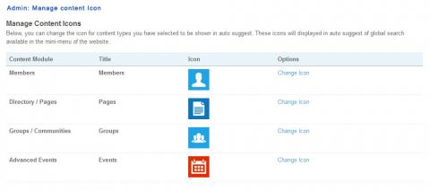 Admin: Manage content Icon
