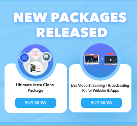 New Release: Ultimate Insta Clone Package & Live Video Streaming / Broadcasting Kit