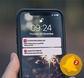 30% Discount, Push Notifications now Faster than ever - iOS Mobile App