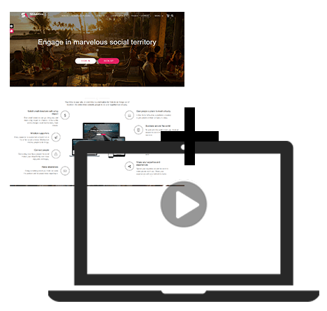 Responsive Allure Theme and Homepage Background Videos & Photos Plugin - Product Kit