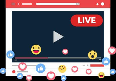 Live Video Streaming / Broadcasting / Go Live Plugin