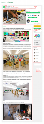 Project Profile Page