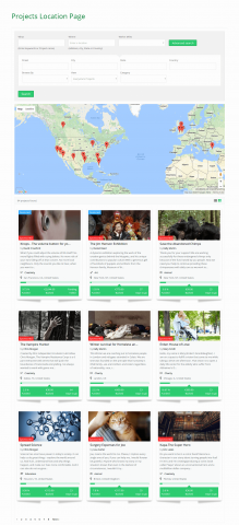 Projects Location Page