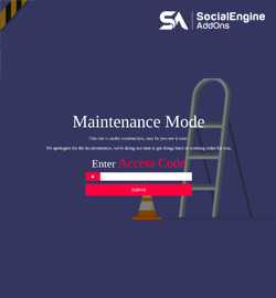 New Release: Custom Error Pages & Redirection Plugin For SocialEngine and Last 3 Days of 20% Discount