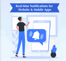 New Service: Real-time Notifications for Website & Mobile Apps