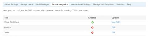 Service Integration