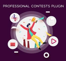New Release: Professional Contests Plugin - Enables You to Increase Traffic on Your Website and Get Great Exposure!