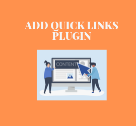 New Release: Add Quick Links Plugin - Attractive & Convenient Way for Users to Create Content