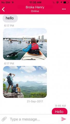 Prime Messenger - Message Page
