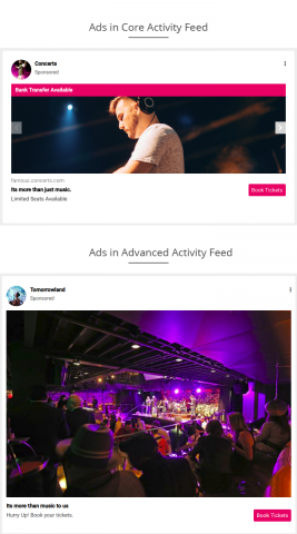 Ads in Activity Feed