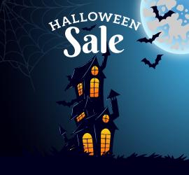 Halloween Sale from SocialApps.tech : Mystery Savings