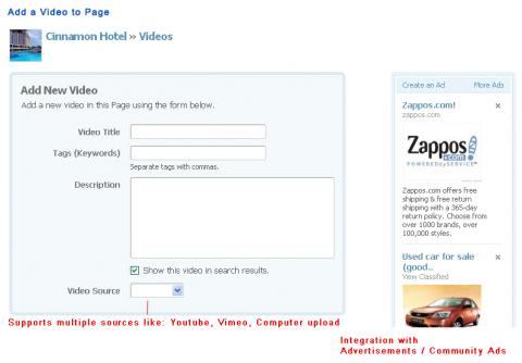 Add a Video to Page