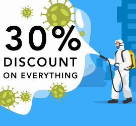 COVID-19 Blues - SocialApps.tech back you with 30% Discount on Everything!